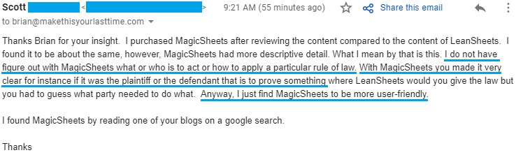 """I find Magicsheets to be more user-friendly"""