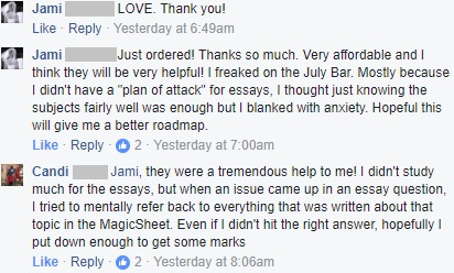 "Magicsheets ""were a tremendous help to me!"""